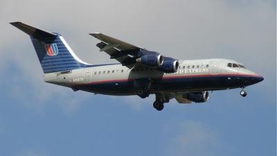 N156TR - British Aerospace BAe 146-200A - United Express (Air Wisconsin)