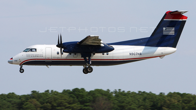 N907HA - Bombardier Dash 8-102 - US Airways Express (Piedmont Airlines)