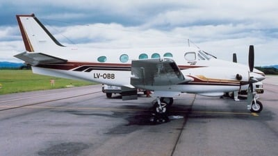 LV-OBB - Beechcraft 90 King Air - AeroRutas