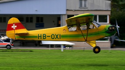 A picture of HBOXI - Piper J3C65 Cub - [12896] - © Karl Haller
