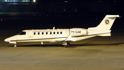 VH-SQM - Bombardier Learjet 45 - Singapore Flying College