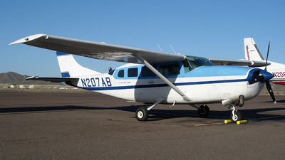 N207AB - Cessna T207 Turbo Skywagon - Private