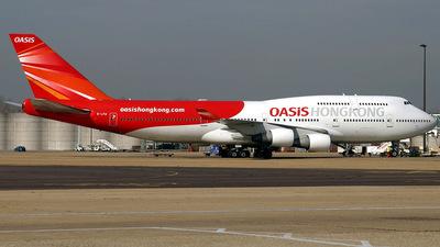 B-LFB - Boeing 747-412 - Oasis Hong Kong Airlines
