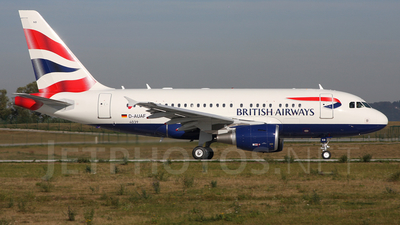 D-AUAF - Airbus A318-112 - British Airways