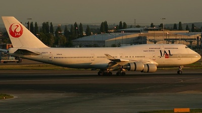 JA8077 - Boeing 747-446 - Japan Airlines (JAL)