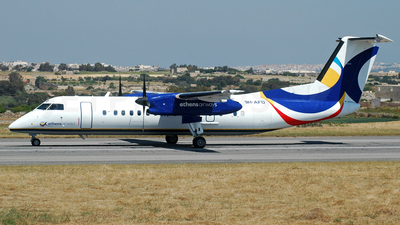 9H-AFD - Bombardier Dash 8-Q311 - Athens Airways
