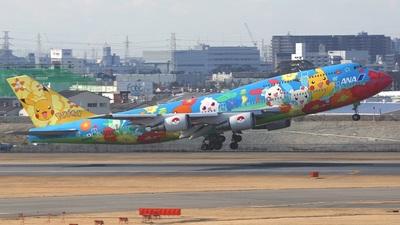 JA8956 - Boeing 747-481D - All Nippon Airways (ANA)