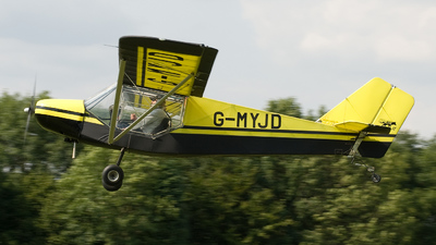 A picture of GMYJD - Rans S6ESD Coyote II - [PFA 20412360] - © Brian Whitelegg