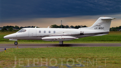 LV-WOC - Gates Learjet 25D - Private