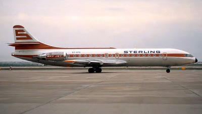 OY-STC - Sud Aviation SE 210 Caravelle 10B3 - Sterling Airways