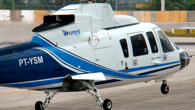 PT-YSM - Sikorsky S-76A - Omni Táxi Aéreo