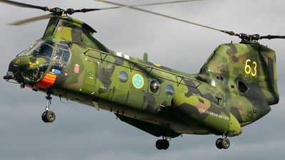 04063 - Boeing Vertol Hkp4B - Sweden - Armed Forces
