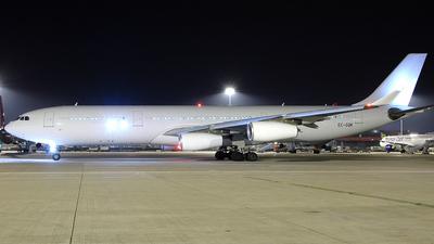 EC-GQK - Airbus A340-313X - Iberia
