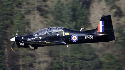 ZF406 - Short Tucano T.1 - United Kingdom - Royal Air Force (RAF)