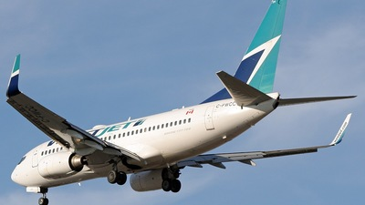 C-FWCC - Boeing 737-7CT - WestJet Airlines