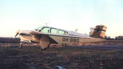 OH-BBD - Beechcraft V35A Bonanza - Private