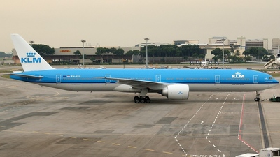 PH-BVC - Boeing 777-306ER - KLM Royal Dutch Airlines