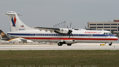 N536AT - ATR 72-212A(500) - American Eagle (Executive Airlines)