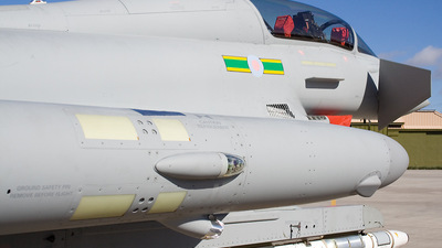 ZJ814 - Eurofighter Typhoon T.1 - United Kingdom - Royal Air Force (RAF)