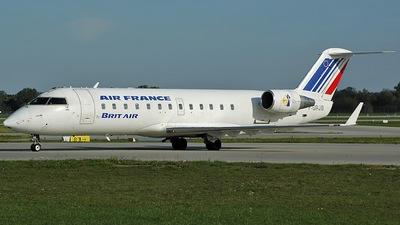 F-GRJB - Bombardier CRJ-100ER - Air France (Brit Air)