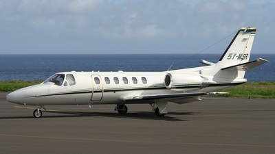 5Y-MSR - Cessna 550B Citation Bravo - Private