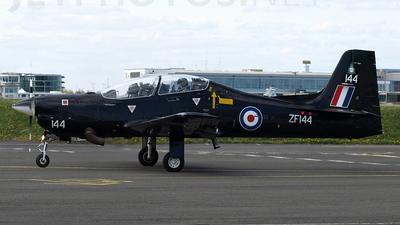ZF144 - Short Tucano T.1 - United Kingdom - Royal Air Force (RAF)