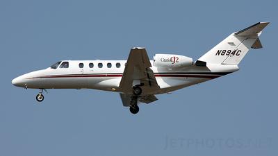 A picture of N894C - Cessna 525A CitationJet CJ2 - [525A0013] - © Geoff Landes