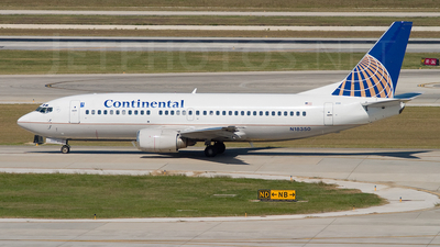 N18350 - Boeing 737-3T0 - Continental Airlines