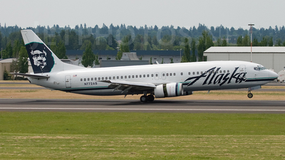 N772AS - Boeing 737-4Q8 - Alaska Airlines
