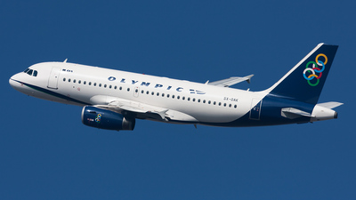 SX-OAK - Airbus A319-132 - Olympic Air