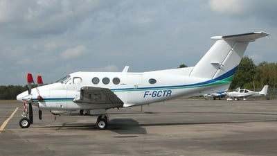 A picture of FGCTR - Beech F90 King Air - [LA115] - © Tom Gibbons