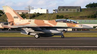 886 - Lockheed Martin F-16I Sufa - Israel - Air Force