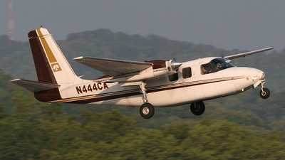 N444CA - Aero Commander 500B - Central Airlines