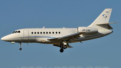 VP-CAS - Dassault Falcon 2000 - Private