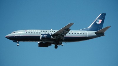 N370UA - Boeing 737-322 - Shuttle by United