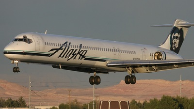 N964AS - McDonnell Douglas MD-83 - Alaska Airlines