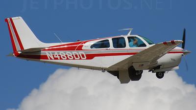 A picture of N488DD - Beech 35C33A Debonair - [CE143] - © Jonathan Morgan