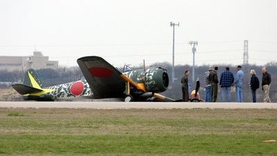 N43KI - Nakajima Ki-43 Hayabusa - Private