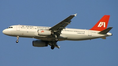 VT-EYG - Airbus A320-231 - Indian Airlines