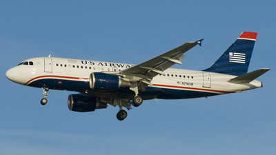 N716UW - Airbus A319-112 - US Airways