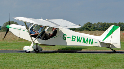 G-BWMN - Rans S-7 Courier - Private
