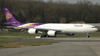 F-WWTN - Airbus A340-541 - Thai Airways International
