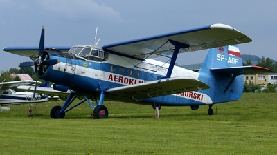 SP-AOF - Antonov An-2 - Private