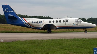 PH-LAB - Cessna 550 Citation II - National Aerospace Laboratory (NLR)