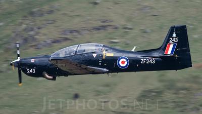 ZF243 - Short Tucano T.1 - United Kingdom - Royal Air Force (RAF)