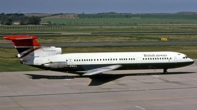 G-AWZL - Hawker Siddeley HS-121 Trident 3 - British Airways