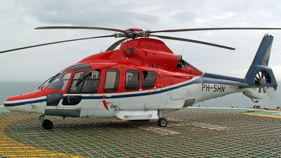 PH-SHN - Eurocopter EC 155B1 Dauphin - CHC Helicopters