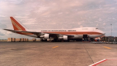 N707CK - Boeing 747-269B(SF) - American International Airways (Kalitta)
