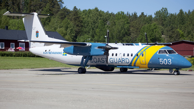 SE-MAC - Bombardier Dash 8-Q311MSA - Sweden - Coast Guard