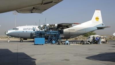 EX-034 - Antonov An-12 - Sasco Airlines